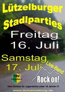Stadlparty in Lützelburg