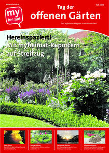 Das erste myheimat-Magazin aus der Region ist da! Thema: Tag der offenen Grten