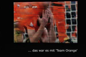 Fan-Meile Seelze - ... das Aus fr das 'Orange Team'