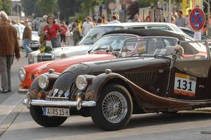 4. Oldtimer-Landkreisrallye - Start in Meitingen