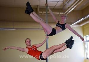Pole Dance Workshop in der Sportschule Kissing