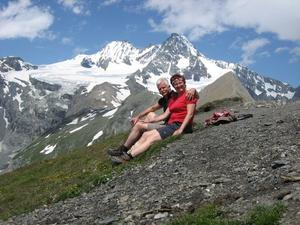 Die Besteigung des Groglockner, Diavortrag von Karin und Dietmar Rabestein