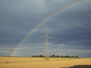 .. Regenbogen und Technik