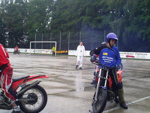 Motoball MSC Pattensen vs.MSC Jarmen mit Filmaufnahmen des NDR
