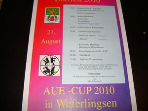 Dorffest und Aue-cup am 21.08.2010 in Weferlingsen
