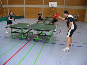 Tischtennis-Trainingslager PSV Knigsbrunn