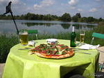 Eine Pizza am See (Pizzeria Klein Sizilien - managed by Luigi)