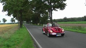 19. Hrke Roadster Treffen 2010, auf dem Weg Richtung Katensen