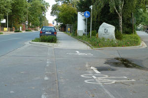 Fahrradwege in Hlptingsen