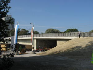 Erffnung  Ulrichsbrcke Lechbrcke