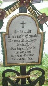 Ein ungewhnlich lustiger Friedhof