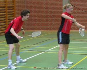 Badmintonteam Heesseler SV:B-Rangliste O19 Doppel und Mixed in Nienburg : Riesenergebnis mit den ersten beiden Pltzen im Mixed und den ersten drei Pltzen im Damendoppel O19 !