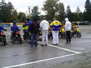 Motoball Endspiel Turnier um die Deutsche Motoballjugendmeisterschaft in Jarmen