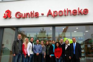 Guntia-Apotheke, Physiotherapie ISIFIT und Arztpraxis erffnen in Gnzburgs Weststadt