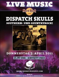 DISPATCH SKULLS Countryrock Night