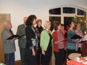 Liedertafel singt bei Adventskonzert 2010