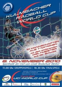 Radball-Weltcup am 6. November 2010 in Kulmbach