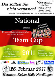 Kunstturnen - National Team Cup 2011 in Nördlingen