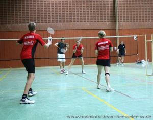 Badmintonteam Heesseler SV: Tolle Platzierungen aber auch schwere Verletzungen auf der Bezirksmeisterschaft O19 !
