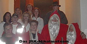 Der Nikolaus kommt zu den Kindern