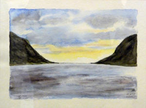 'Fjordlandschaft in Norwegen'