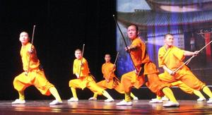 Shaolin Vorfhrung in Gersthofen