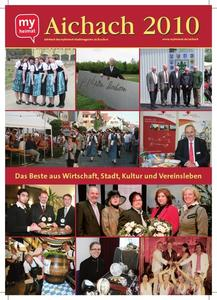 Jetzt neu: Das myheimat Jahrbuch Aichach 2010