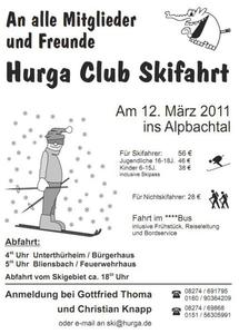 Hurga Club 1-Tages Skifahrt ins Alpbachtal