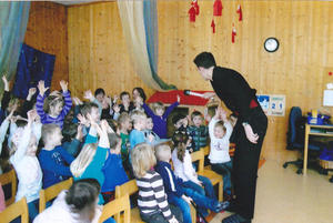 Zauberei im Kindergarten