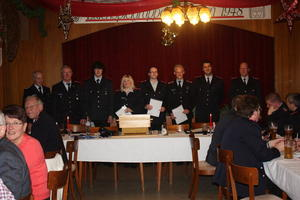 Jahreshauptversammlung 2011 der Feuerwehr Stelle
