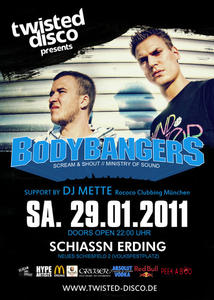Twisted Disco präsentiert: Bodybangers | Support: DJ Mette