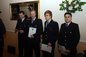 Jahreshauptversammlung der Ortsfeuerwehr Neuwarmbchen 2011