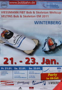 Bob & Skeleton World Cup + Euromeisterschaft 2011 in Winterberg