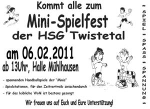 Mini-Spielfest der HSG-Twistetal
