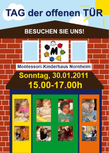 Tag der offenen Tr im Kinderhaus Nornheim - Besuchen Sie uns!