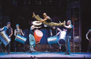 Premiere: STOMP im Theater am Marientor