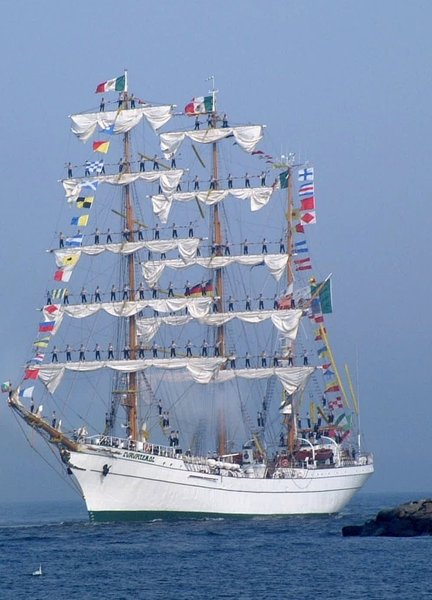 Hansesail Rostock-Warnemnde: 'Cvahtemoc, Mexico