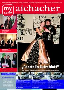 Jetzt neu: Das myheimat-Stadtmagazin aichacher 02/2011