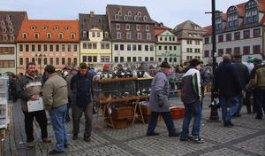Bilder vom Taubenmarkt in Naumburg/Saale (12. Februar 2011)