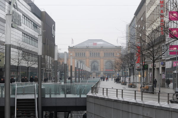 Richtung Hauptbahnhof