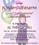 Groer Kinderflohmarkt in der Gemeindehalle