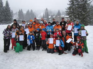 Stadtmeisterschaft im Ski- und Snowboardfahren