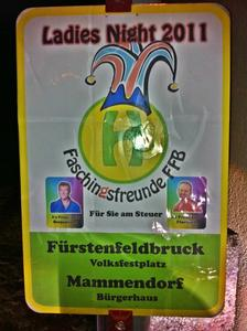 Nächster Halt.......Ladies Night Faschingsfreunde Fürstenfeldbruck in Mammendorf