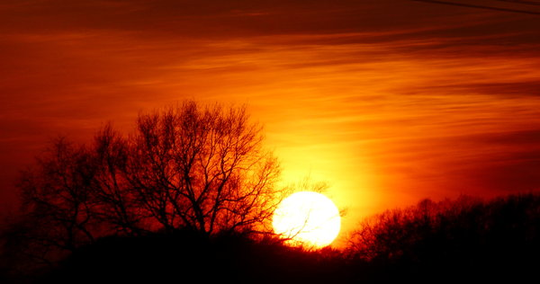 Sonnenuntergang  -  4.Mrz 2011