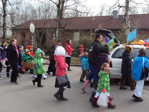 Kinderfasching 2011 in Nornheim