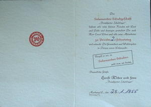 Erinnerung an 1955