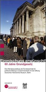 Einmischung erwnscht! 60 Jahre Grundgesetz an der FOS Friedberg