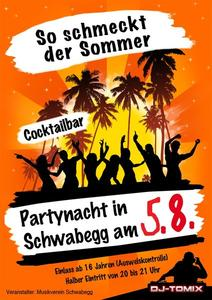 Partynacht in Schwabegg