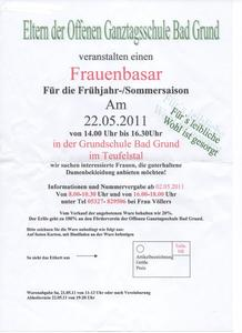 Kleiderbasar fr Frauen in Bad Grund