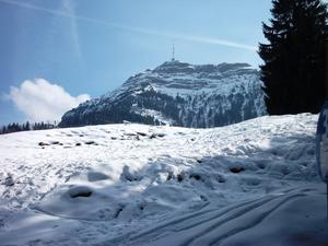 Wintersport am Rigi